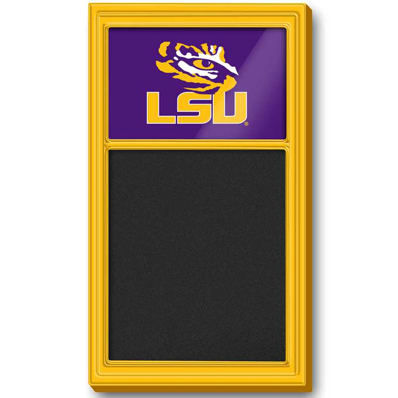 LS-620-01: GI Team Board Chalkboard-LSU-Primary Logo-Gold