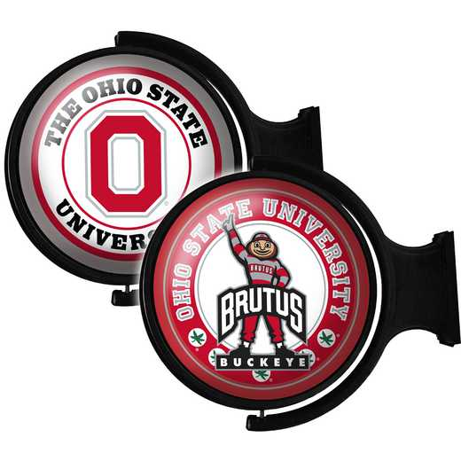 OS-115-03: GI Rotating  -Round-Bubble-Ohio State-2 Sided, Ohio St