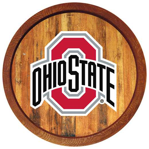 "OS-240-01: GI 20"" Barrel  Wall Sign-Primary Color Logo, Ohio St"