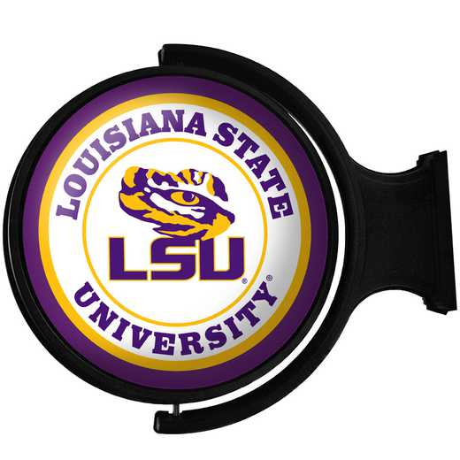 LS-115-01: GI Rotating  Sign-Round-Bubble-LS-Primary Logo' LSU
