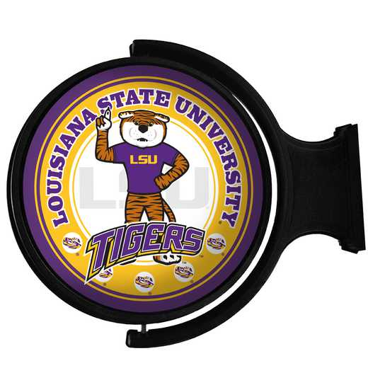 LS-115-02: GI Rotating  Sign-Round-Bubble-LS-Mike' LSU