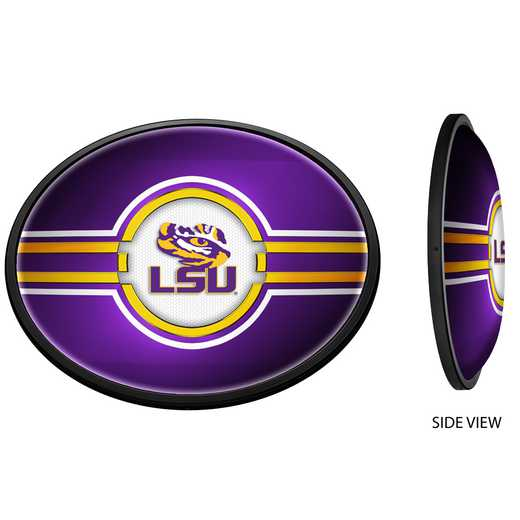 LS-140-01: GI Slimline  Sign-Oval-LS-Primary Logo' LSU