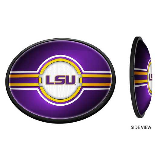 LS-140-02: GI Slimline  Sign-Oval-LS-Block LSU' LSU