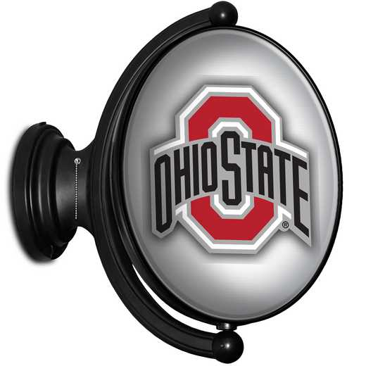 OS-125-02: GI Rotating  - Oval-Bubble-Primary Logo Silver , Ohio St