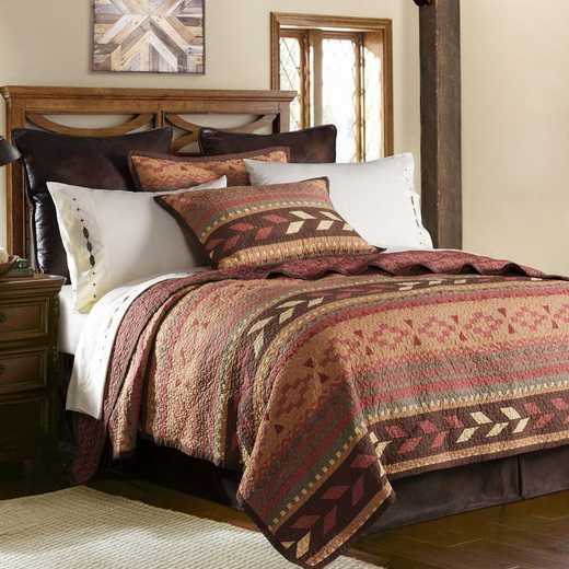 HiEnd Accents 2-PC Broken Bow Quilt Set