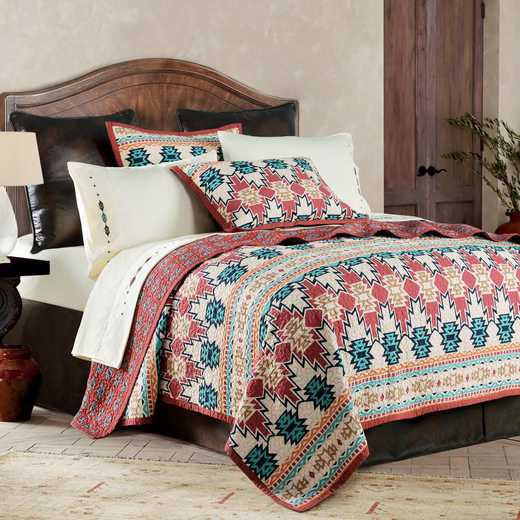 HiEnd Accents 2-PC Phoenix  Quilt Set