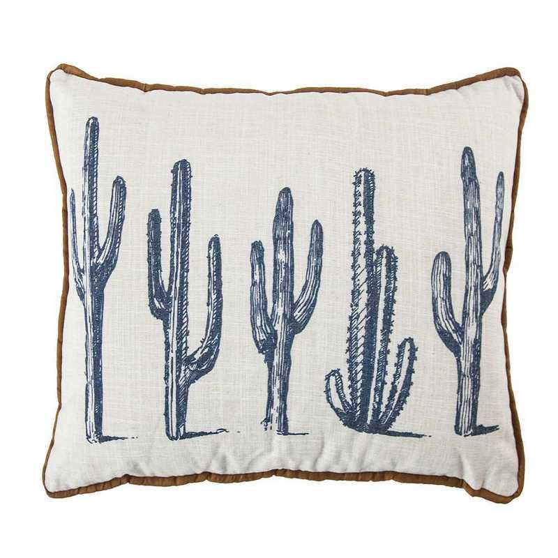 PL3154: HEA 5 Cactus Linen Pillow - 16x26