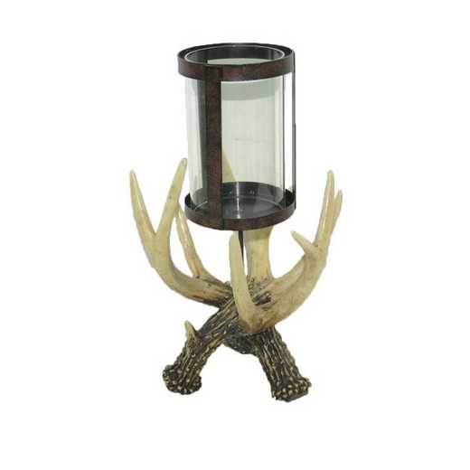 LD6013: HEA Antler Pilar Candle Holder
