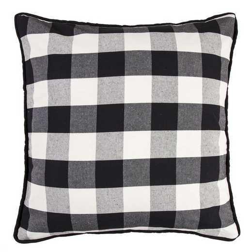 FB1776E1: HEA Blackberry Buffalo Check Euro Sham - 27x27