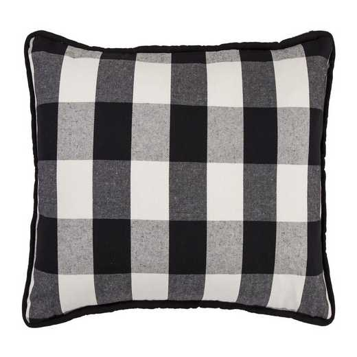 FB1776P1: HEA Blackberry Buffalo Check Oblong Pillow - 16x26