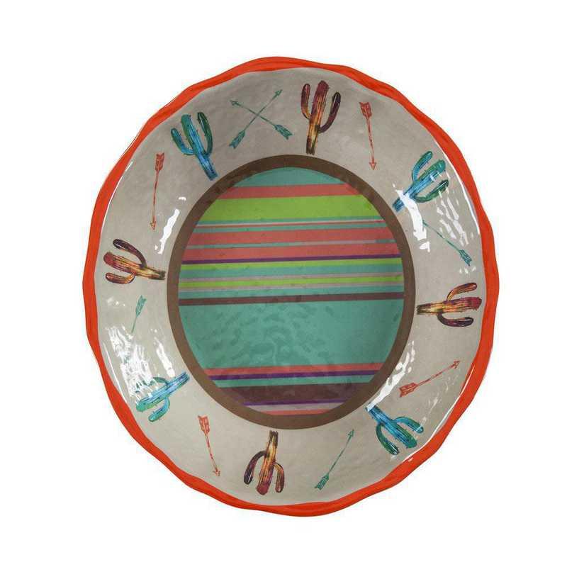 DI1756SB01: HEA Cactus Design Serving Bowl