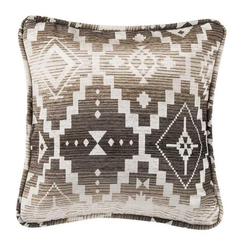 LG1779P3: HEA Chalet Aztec Pillow Square - 18x18