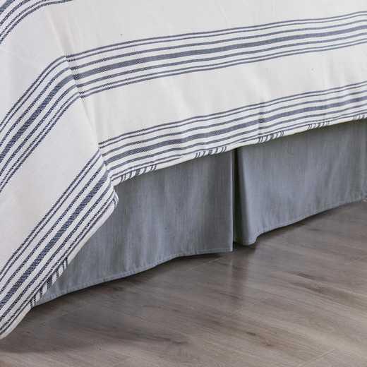 HEA Chambray Bed Skirt