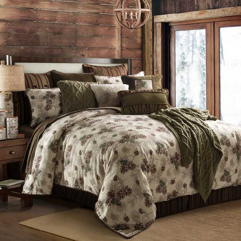 HiEnd Accents Forest Pine Comforter Set