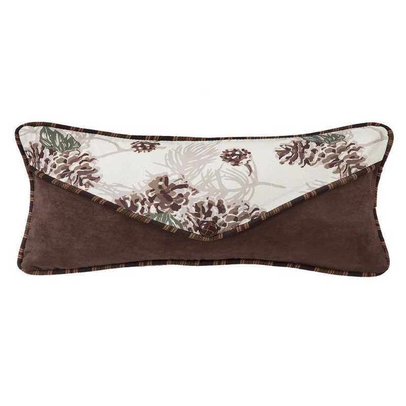 NL1733P4: HEA Forest Pine Pinecone Envelope Pillow - 12x22