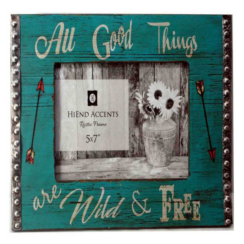 WD1705: HEA All Good Things Picture Frame - 5x7