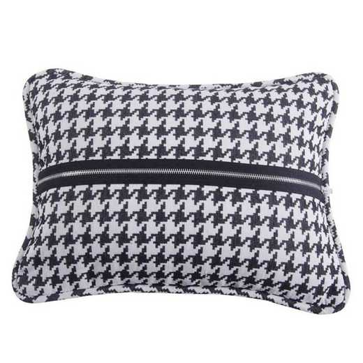 FB1713P3: HEA Hamilton Houndstooth Oblong Pillow - 17x13