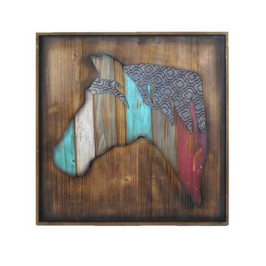 WD2409: HEA Horse Head Wall Art
