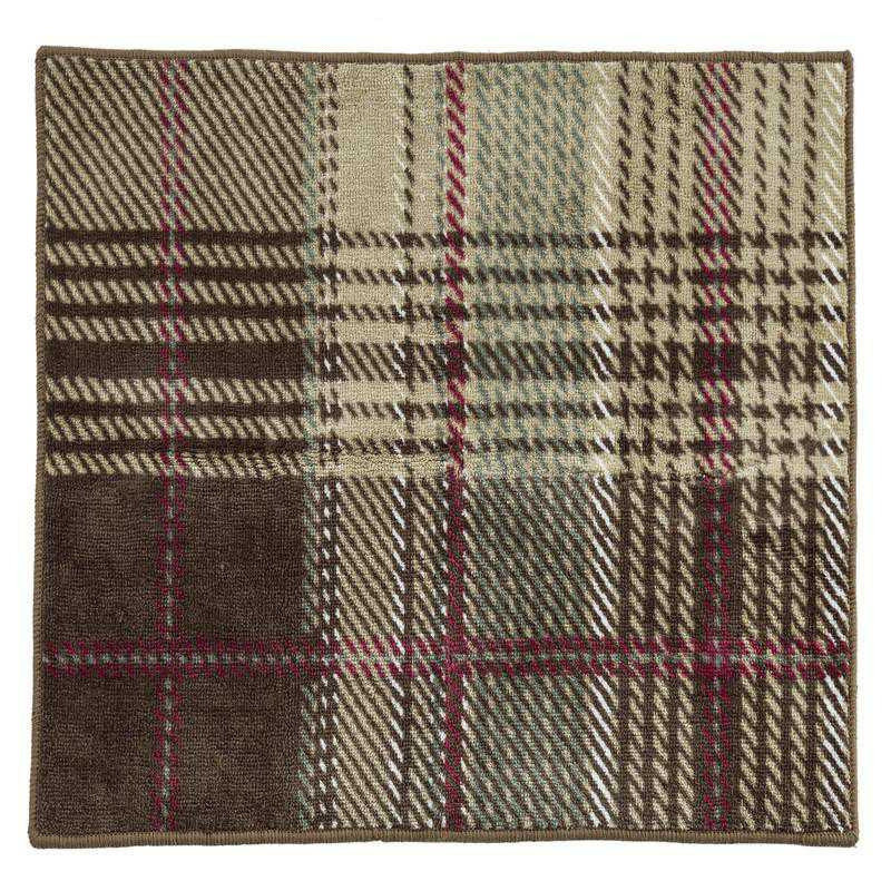 BL1731-TT-OC: HEA Huntsman Plaid Rug - 24x36