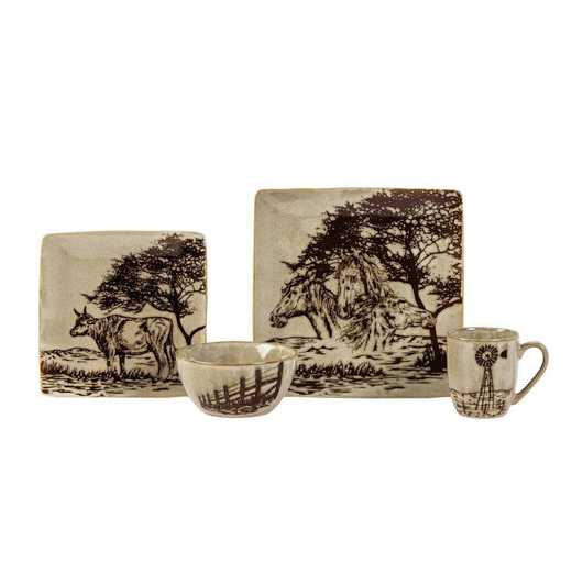 DI1761: HEA 16pc Jasper Dinnerware Set