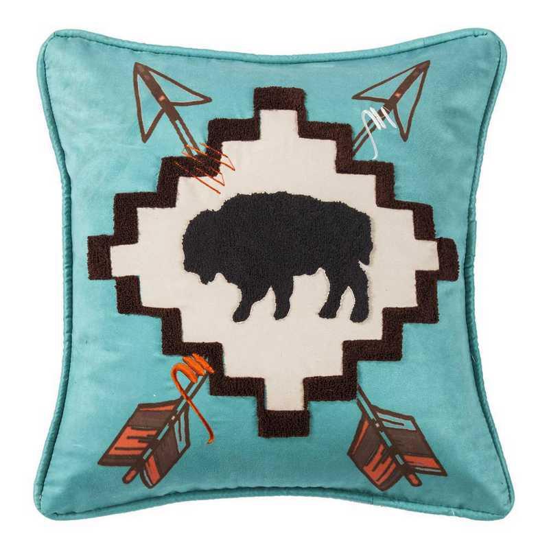 WS1753P4: HEA large Buffaloe Pillow