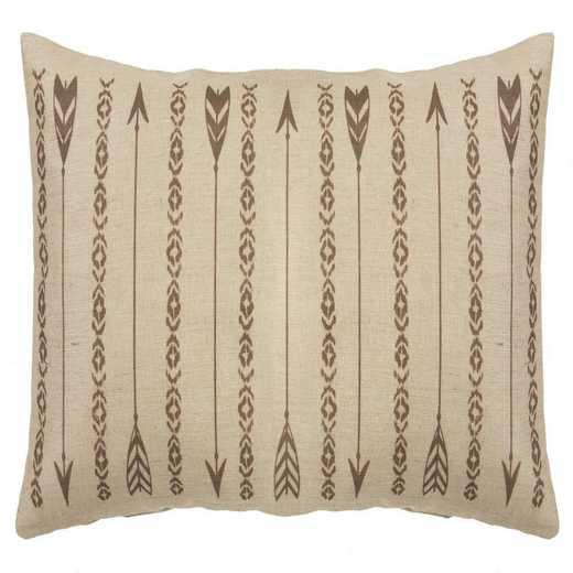 PL1811: HEA Long Arrows Burlap Pillow - 15x35