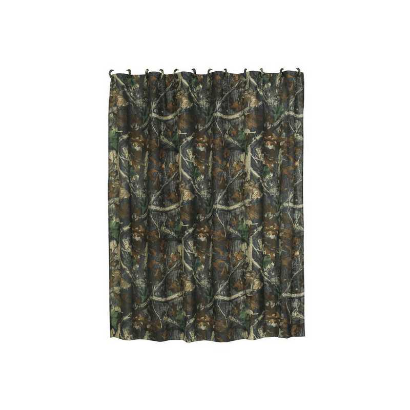 CM1001SC: HEA Oak Camo Shower Curtain