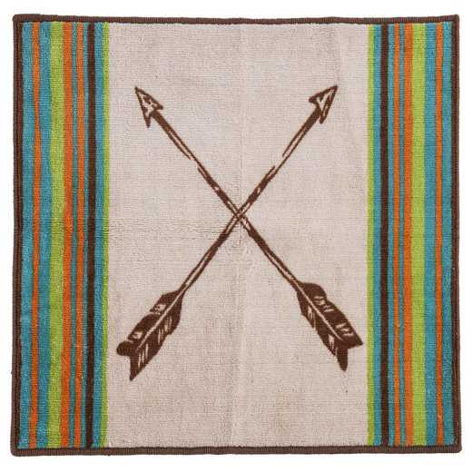 BW1753: HEA Rug with Arrow - 24x36