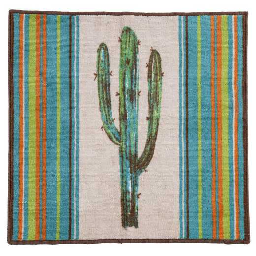 BW1754: HEA Rug with Cactus - 24x36