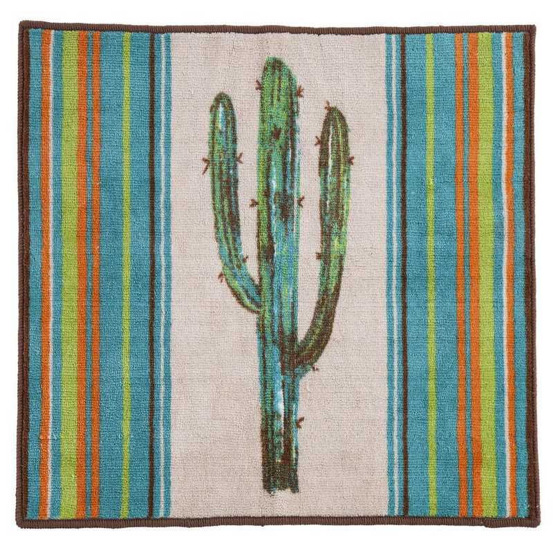 BW1754: HEA Rug with Cactus - 24x36