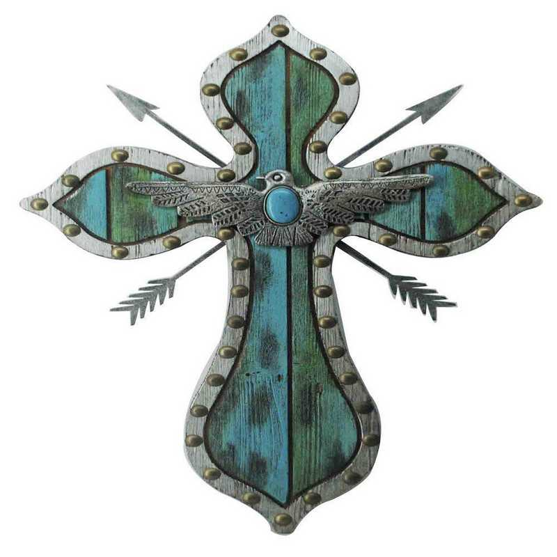 WD2703: HEA Thunderbird Arrow Turquoise Cross