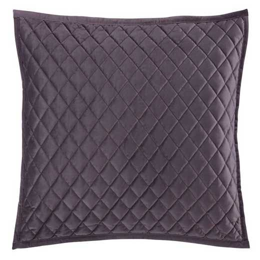 FB6300PS-SS-AM: HEA Quilted Velvet Standard Pillow Sham -Amethyst