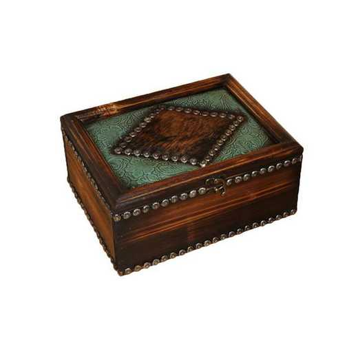 WD4101: HEA Western Trinket Box - Large