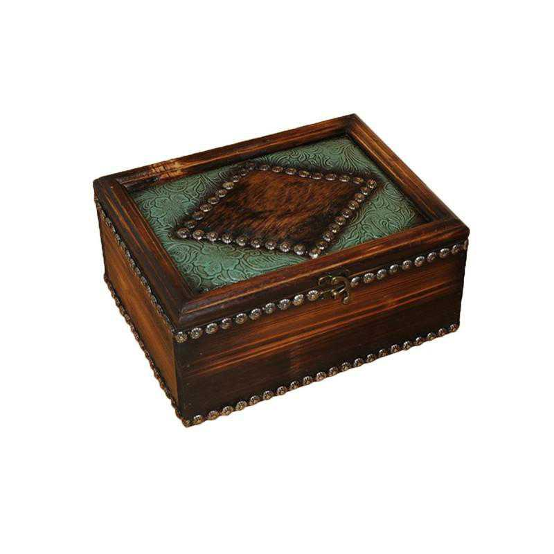 WD4101: HEA Western Trinket Box - Large