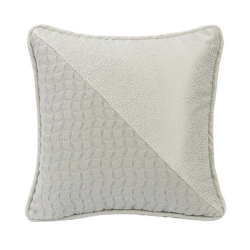 FB1615P2: HEA Half and half decorative pillow - 16x16