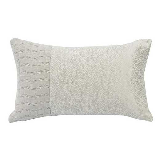 FB1615P1: HEA Textured Oblong Pillow - 10x17