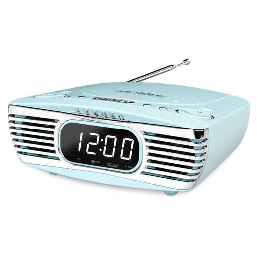 V50-250-TEL: IT Victrola Bedside Stereo with CD Player, Teal