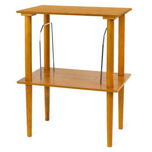 VA-30-OAK: Victrola Wooden Stand with Record Holder