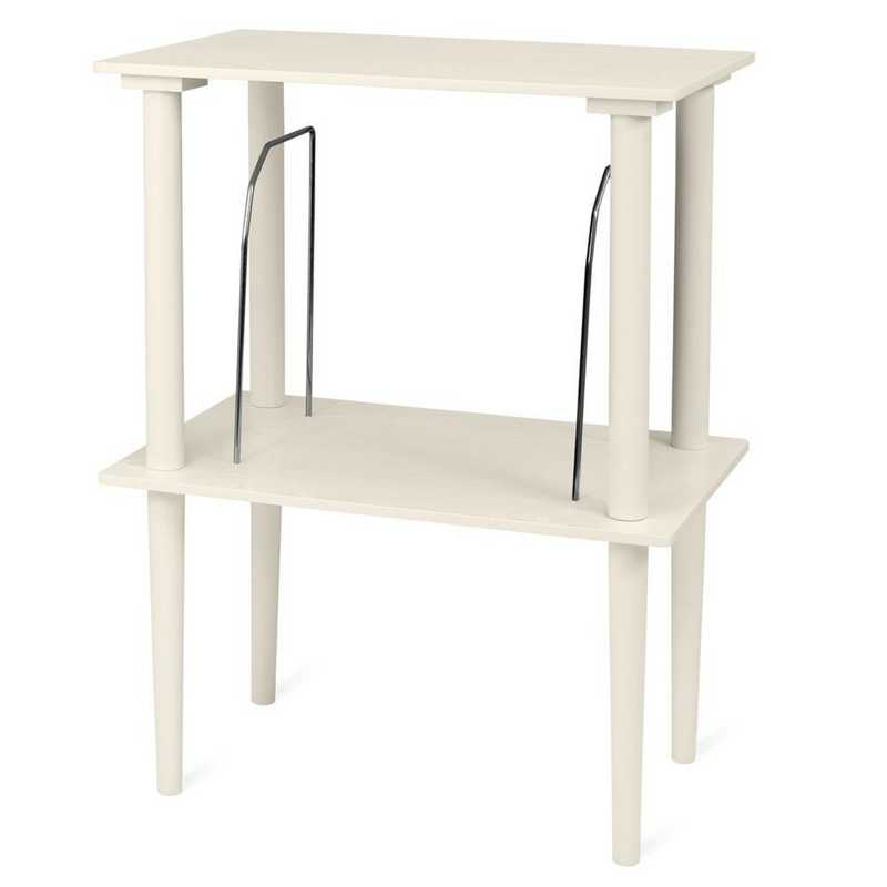 VA-30-WHT: Victrola Wooden Stand with Record Holder