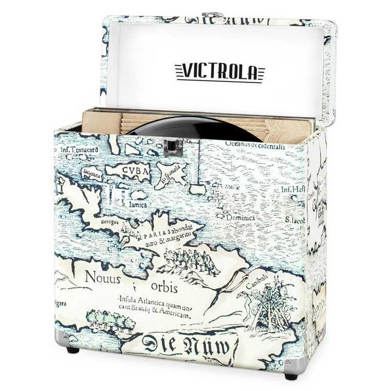 VSC-20-P4: Victrola Storage case for Vinyl Turntable Records