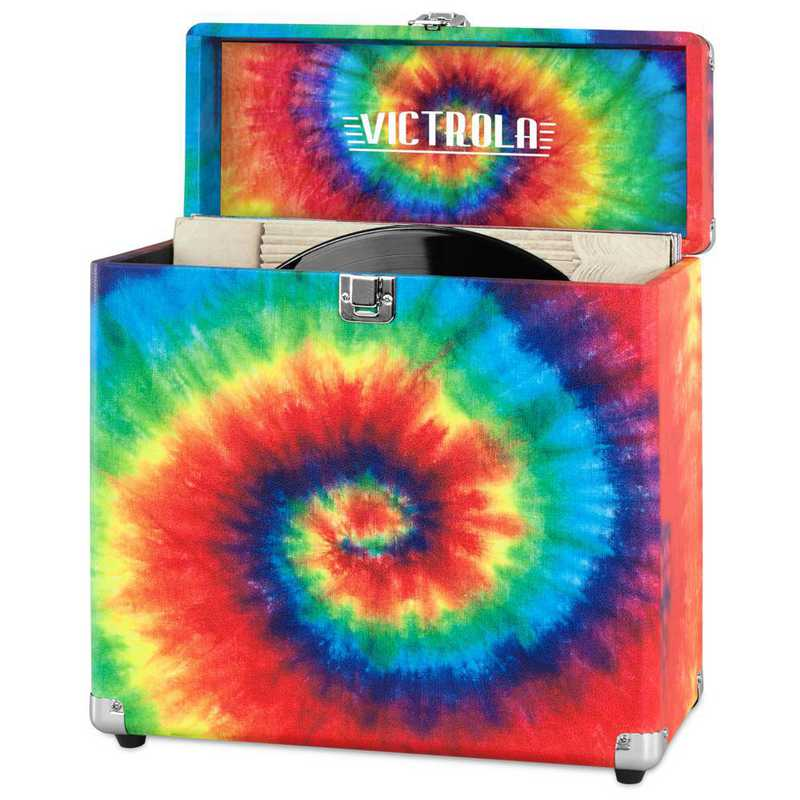 VSC-20-TDY: Victrola Storage case for Vinyl Turntable Records
