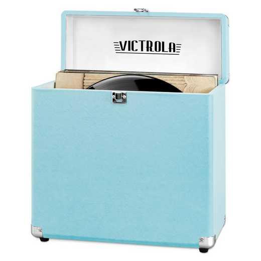 VSC-20-TRQ: Victrola Storage case for Vinyl Turntable Records