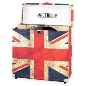 VSC-20-UK: Victrola Storage case for Vinyl Turntable Records