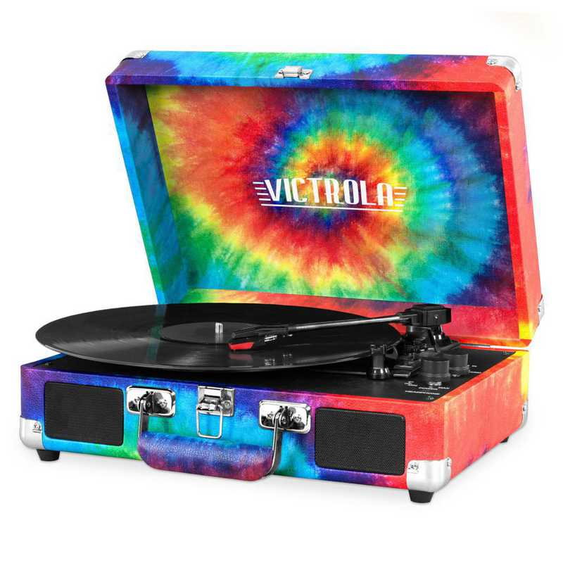 VSC-550BT-TDY: IT Victrola BT Suitcase Record Player, Multi