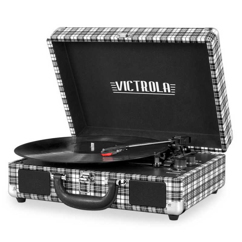 VSC-550BT-WX: IT Victrola BT Suitcase Record Player, White