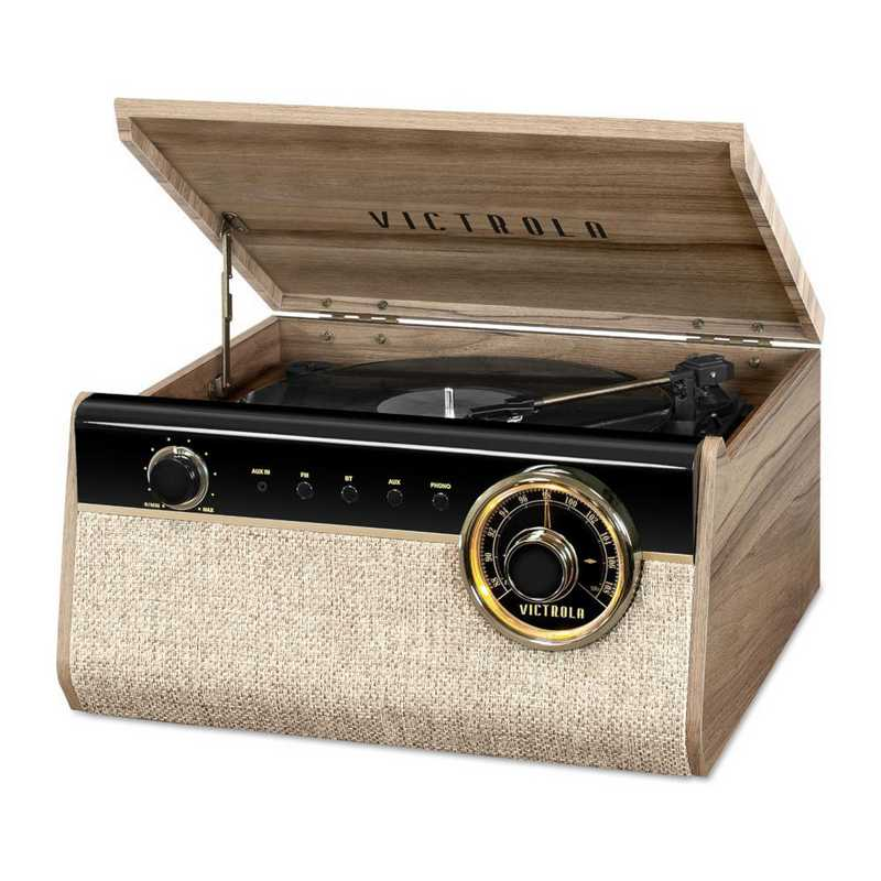 VTA-280B-FNT: Victrola's 4in1 Austin Bluetooth Record Player and FM Radio
