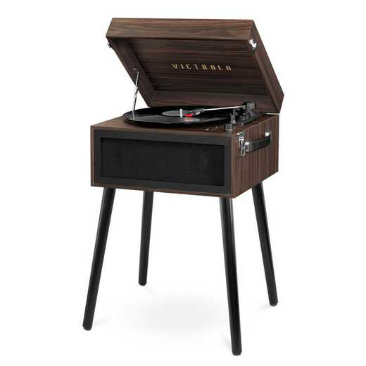 VTA-75-ESP: Victrola Bluetooth Record Player Stand 3-Speed Turntable
