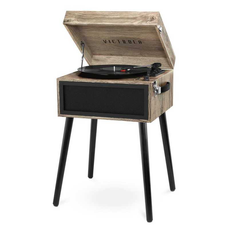 VTA-75-FOT: Victrola Bluetooth Record Player Stand with Turntable