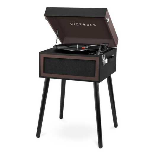 VTA-75-KCB: Victrola Bluetooth Record Player Stand 3-Speed Turntable