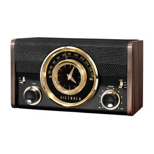 VC-525-ESP: IT Victrola Bluetooth Analog Clock Radio